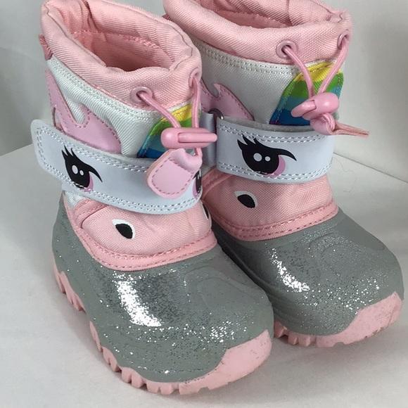 Cat Jack Unicorn Winter Boots Size